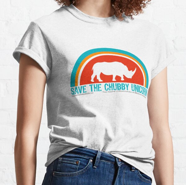 Save The Chubby Unicorn Arches Classic T-Shirt