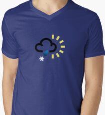 The weather series - Wintery weather Mens V-Neck T-Shirt