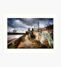 Woolwich Embankment Art Print