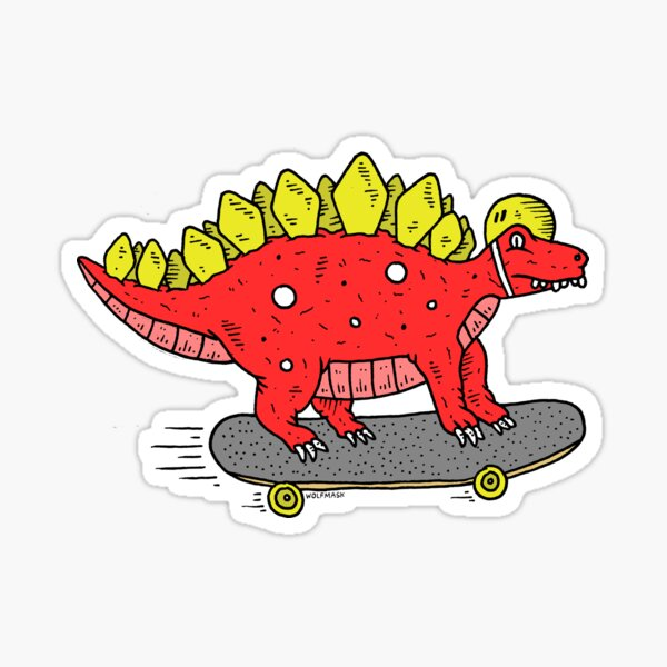 Dino Deck! Sticker