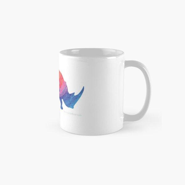 Save The Chubby Unicorn Rainbow Classic Mug