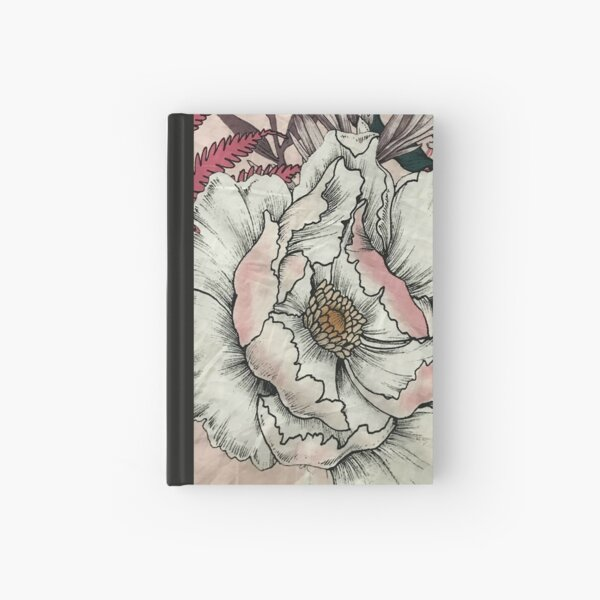 Vintage Floral design Hardcover Journal