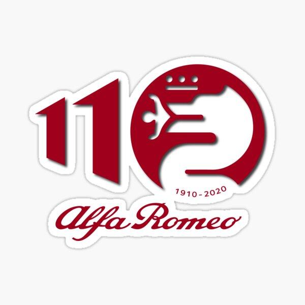Alfa Romeo Celebrando 110 años Pegatina