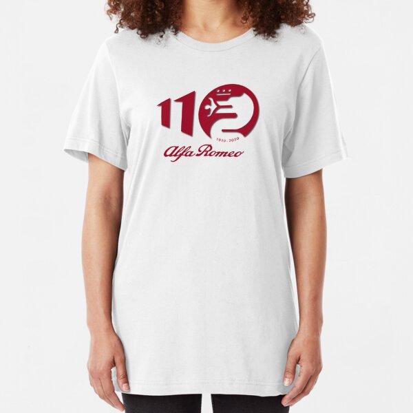 Alfa Romeo Celebrating 110 years Slim Fit T-Shirt