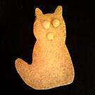 Cat Cookie iPhone Case by Betty Mackey