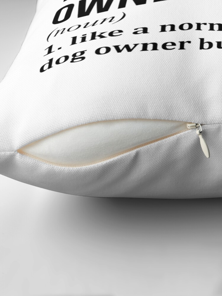 Alternate view of West Highland White Terrier Dog Funny  Throw Pillow