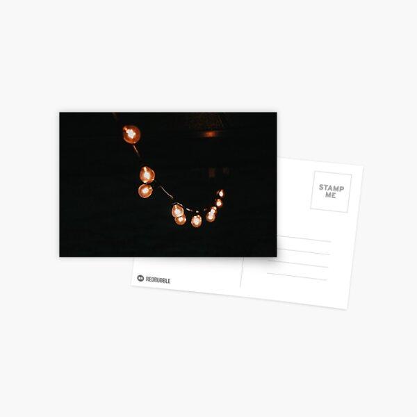 String Lights Postcard