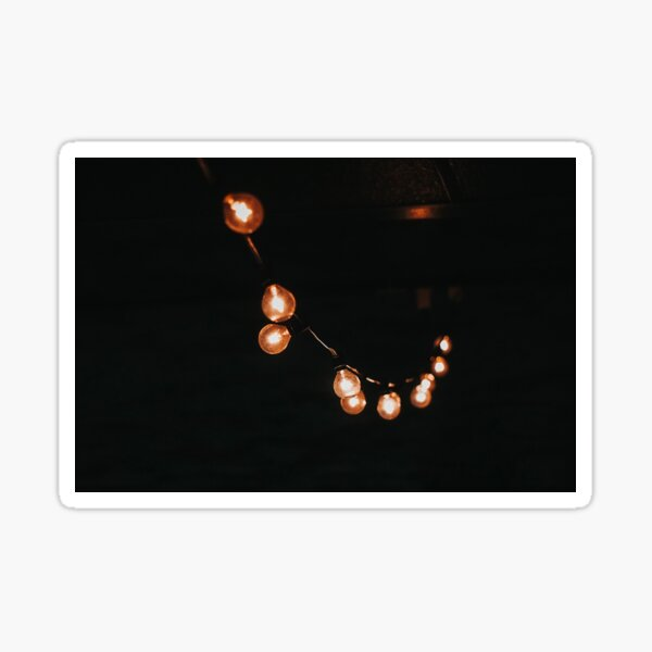 String Lights Sticker