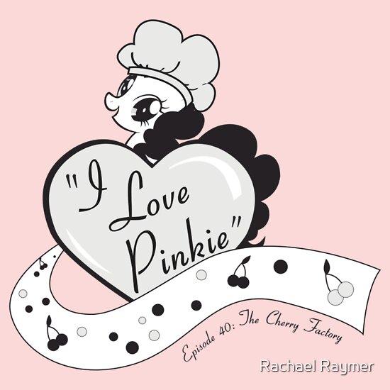 TShirtGifter presents: I Love Pinkie