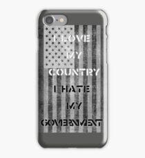Love & Hate  iPhone Case/Skin