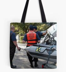 Rescue Is At Hand Tote Bag
