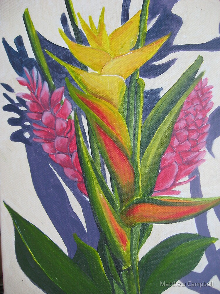 El Yungue Bouquet  by Matthew Campbell