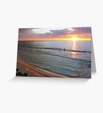 Ocean Ambience Greeting Card