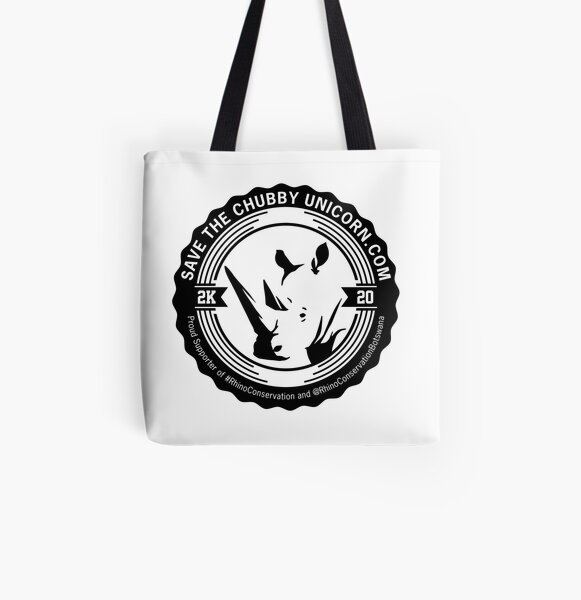 Save The Chubby Unicorn 2K20 All Over Print Tote Bag