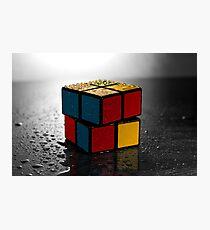 Rubik's Cube Photographic Print