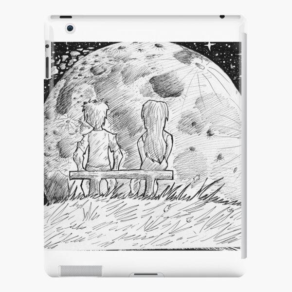 Sketchs of love iPad Snap Case