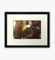 Photography in a picture Framed Print