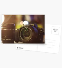 Photography in a picture Postcards