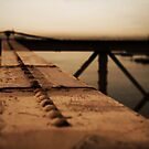 Brookly Bridge - Parts of A Whole  by lallymac