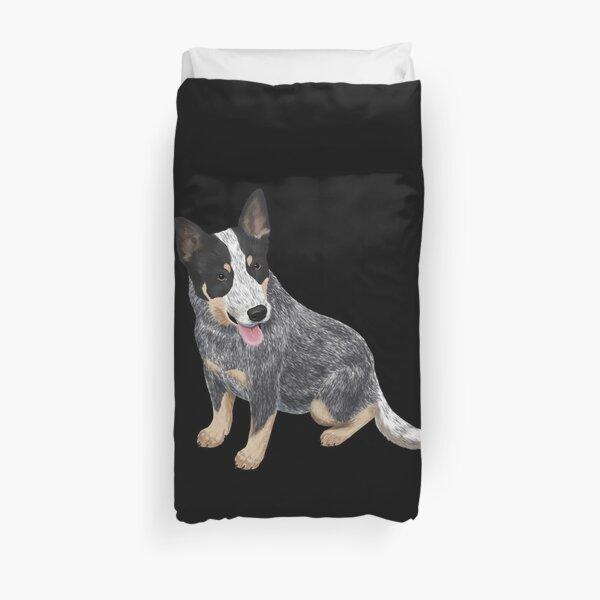 Dog Australian Cattle Dog Duvet Cover