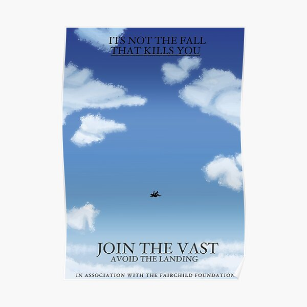 the magnus archives - the Vast recruitment poster  Poster
