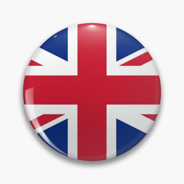 United Kingdom Flag - Union Jack Sticker Sheet Pin