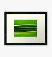 Natural lines Framed Print
