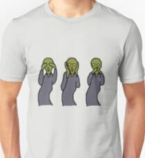 Hear, See and Scream! Unisex T-Shirt