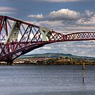 Painting the Forth Bridge by Tom Gomez