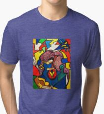 In Paradise  (ORIGINAL SOLD) Tri-blend T-Shirt