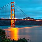 The Golden Gate - San Francisco, California by Gregory Ballos