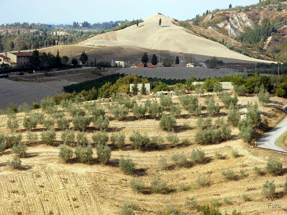 Tuscan Landscape by Fara