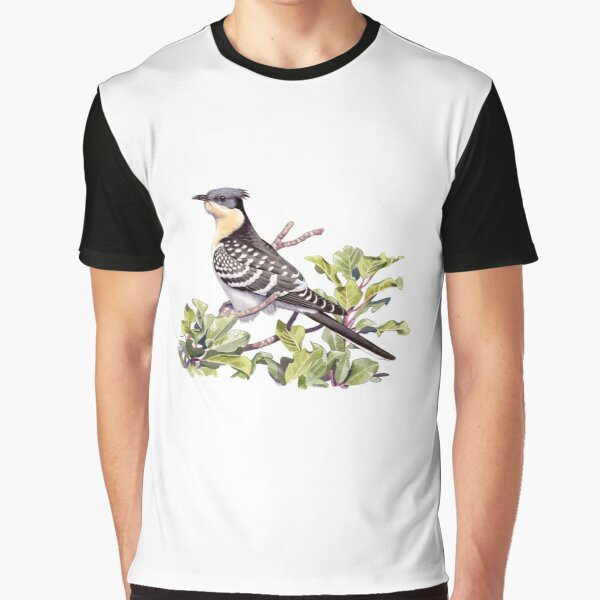 Great Spotted Cuckoo Graphic T-Shirt
