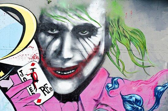 Graffiti Joker Poster Von Yurix Redbubble