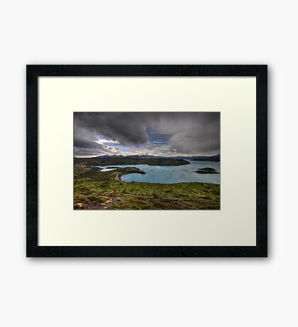 The Lakes of Torres del Paine #3 Framed Print