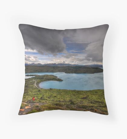 The Lakes of Torres del Paine #3 Throw Pillow