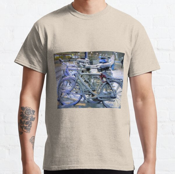 Bikes In The Snow Classic T-Shirt