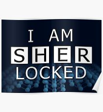 SHERLOCKED - I AM SHER LOCKED Poster
