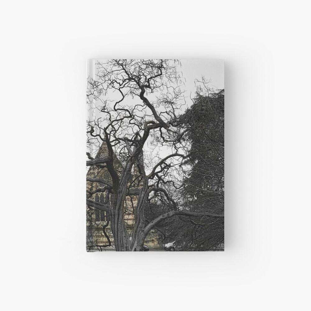Oxford University motto - Lord is my light Hardcover Journal