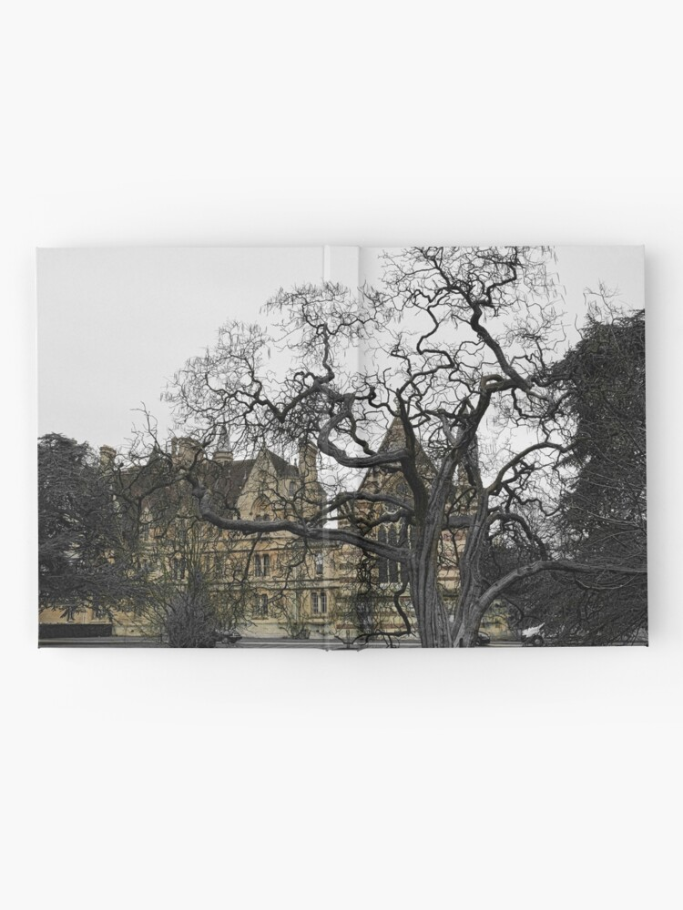 Alternate view of Oxford University motto - Lord is my light Hardcover Journal