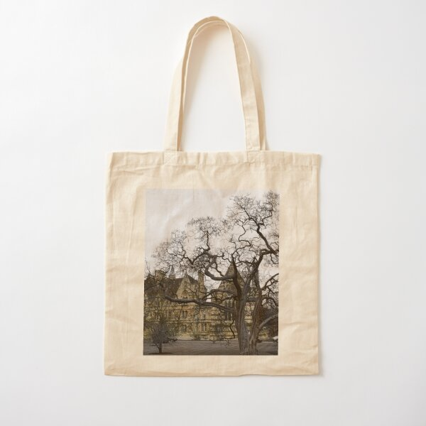 Oxford University motto - Lord is my light Cotton Tote Bag