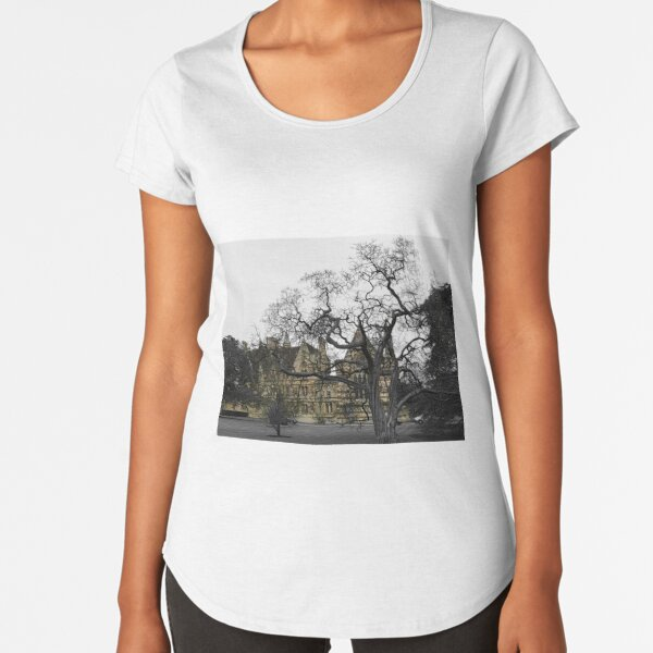 Oxford University motto - Lord is my light Premium Scoop T-Shirt