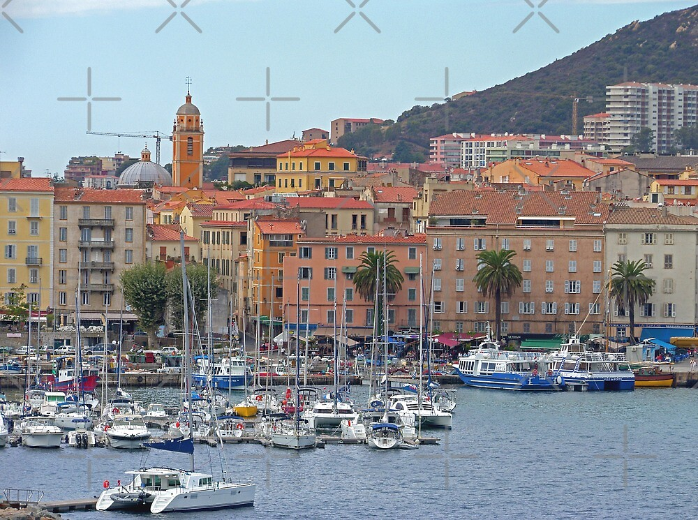 Ajaccio Marina by Tom Gomez