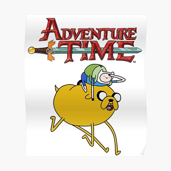 Adventure Time Characters Posters Redbubble