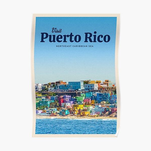 Visit Puerto Rico Poster