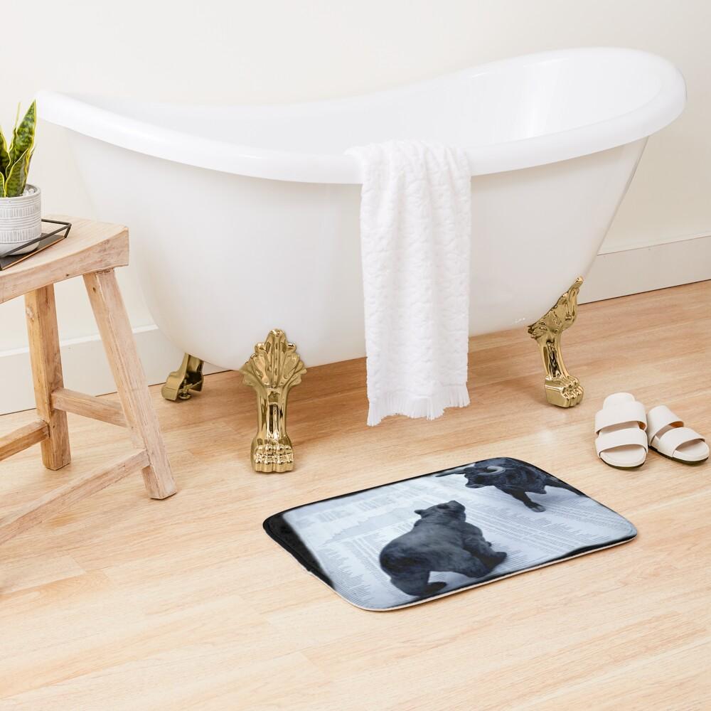 oferta e demanda Alfombra de baño