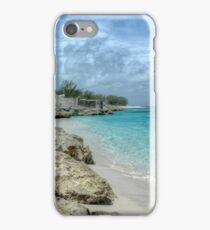 Beach in Paradise island, The Bahamas iPhone Case/Skin