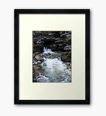 Blanchard Springs Framed Print