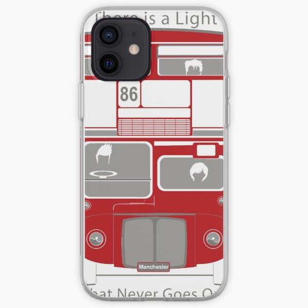 There is a Light Bus iPhone Soft Case