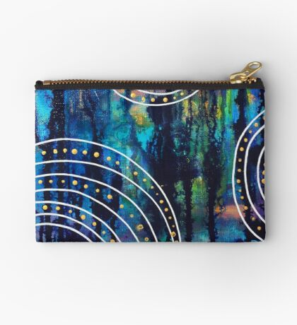 Passionate Blues - Inner Power Painting Studio Pouch